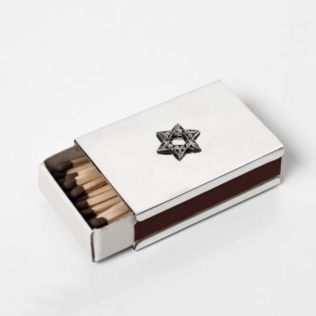 Scatola portafiammiferi in argento