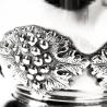 Bicchiere in argento uva